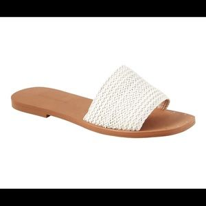 Banana Republic Woven Slide Sandals